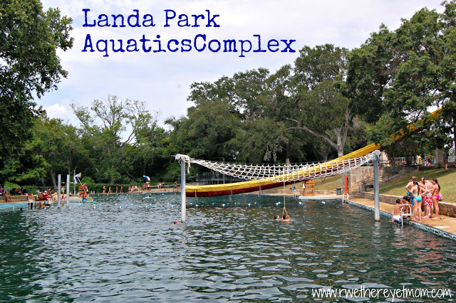 Landa Park Aquatics Complex New Braunfels Texas R We