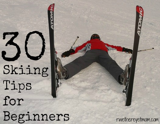 30 Skiing Tips for Beginners