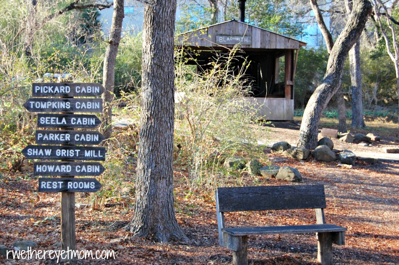 Log Cabin Village Fort Worth Texas R We There Yet Mom