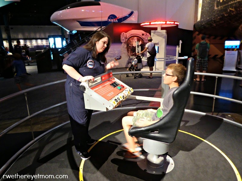 Houston with Kids: SpaceCenter Houston
