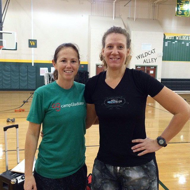 This crazy lady is my Camp Gladiator trainer - she's the one we get up at 4:30 am to workout with. These past 21 days, she has provided me with an unbelievable amount of motivation & encouragement. You can't go through a lifestyle change alone - find some people who will hold you accountable and keep you on track. Thanks Brandy! (Pls excuse the goofy face - it was 5 am y'all!) #21daysforgood