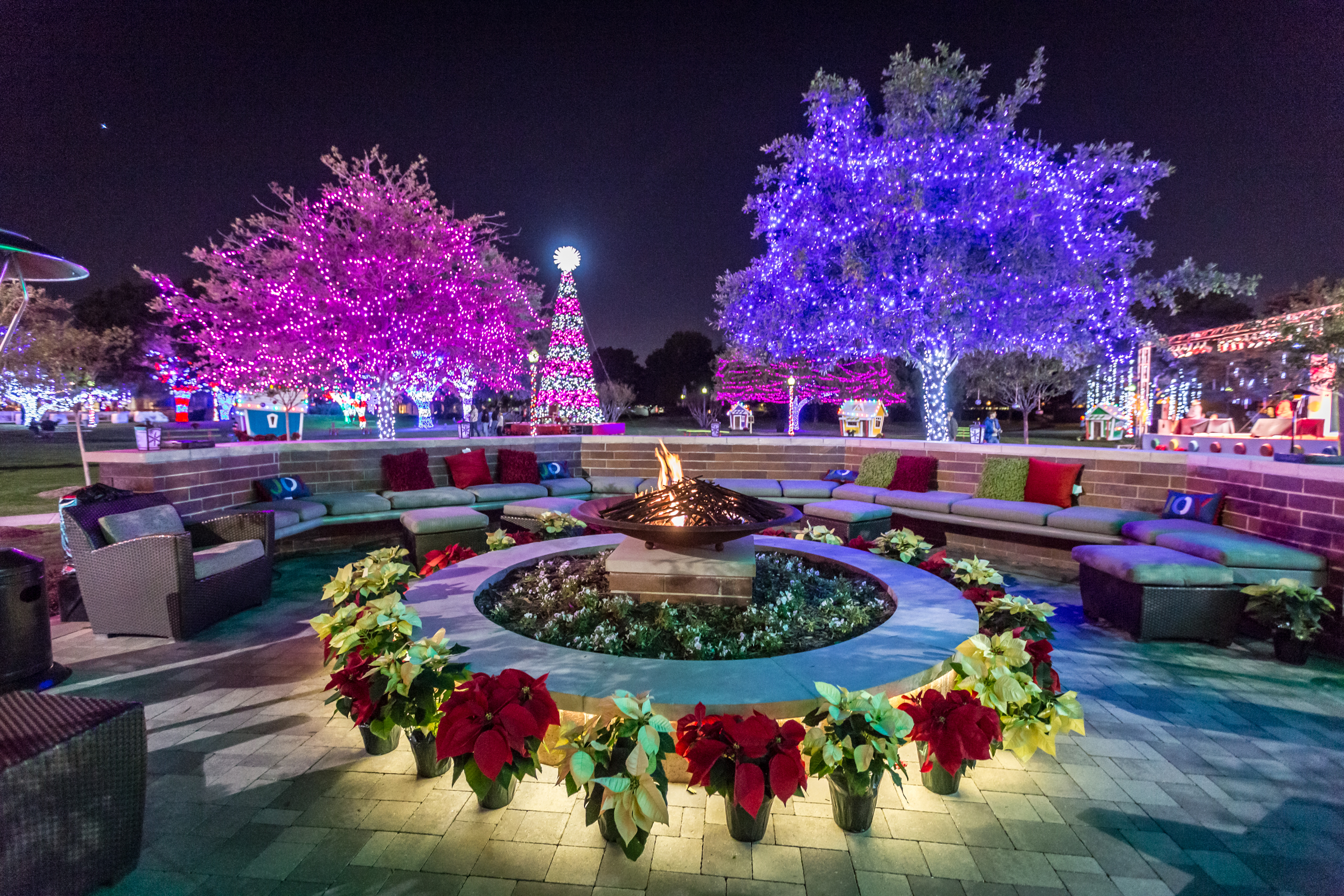 christmas lights events in dallas