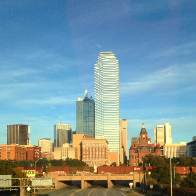 Dallas. It's been too long. Gorgeous day in the Big D. #dallas #texastravel