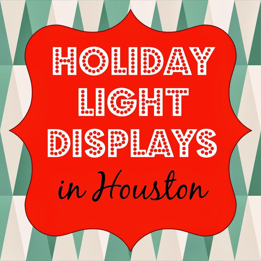 Holiday Light Displays Christmas Lights Houston Tx 2014
