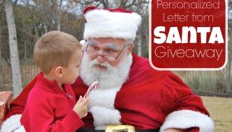 Santa letter giveaway