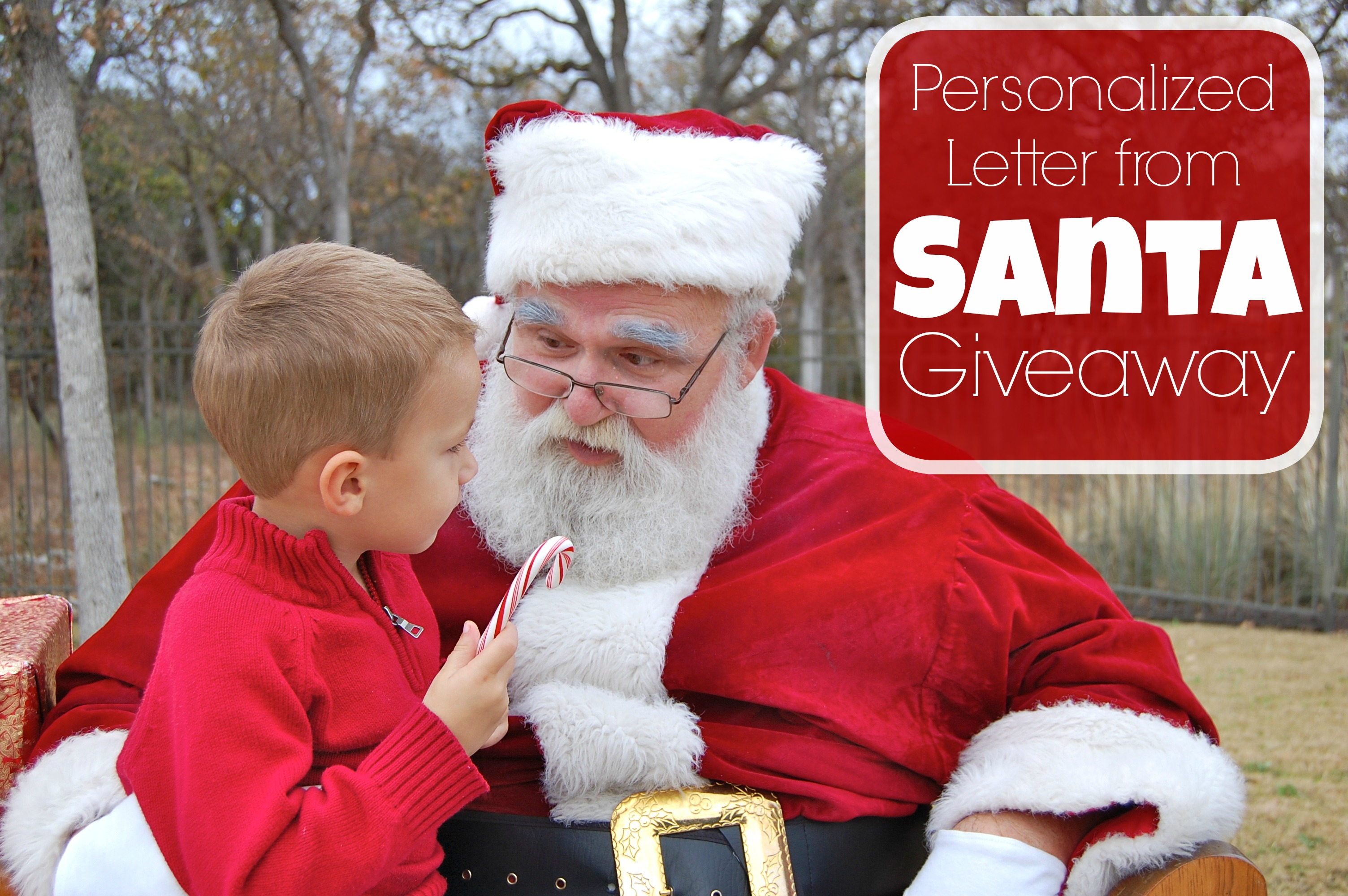 Santa Sent Me A Letter  Personalized Letter From Santa Claus