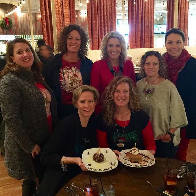 Thanks ladies for the wonderful birthday lunch today!!
