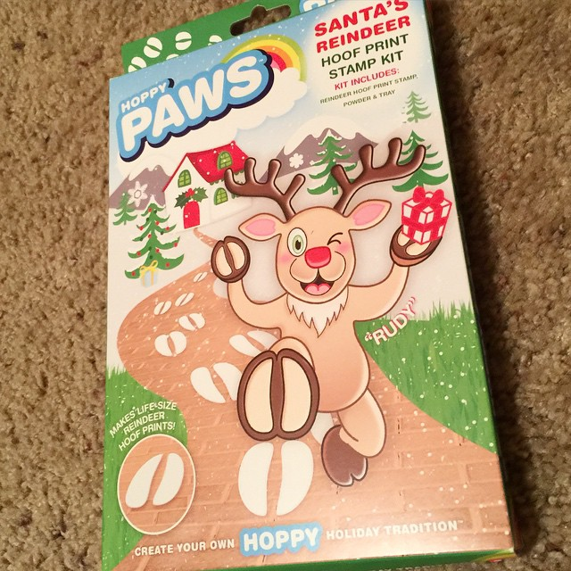I am so excited to receive this to surprise the kids this year!! I think we might decorate some sidewalks down our street in Christmas Eve and share the fun!! @hoppypaws #hoppypaws