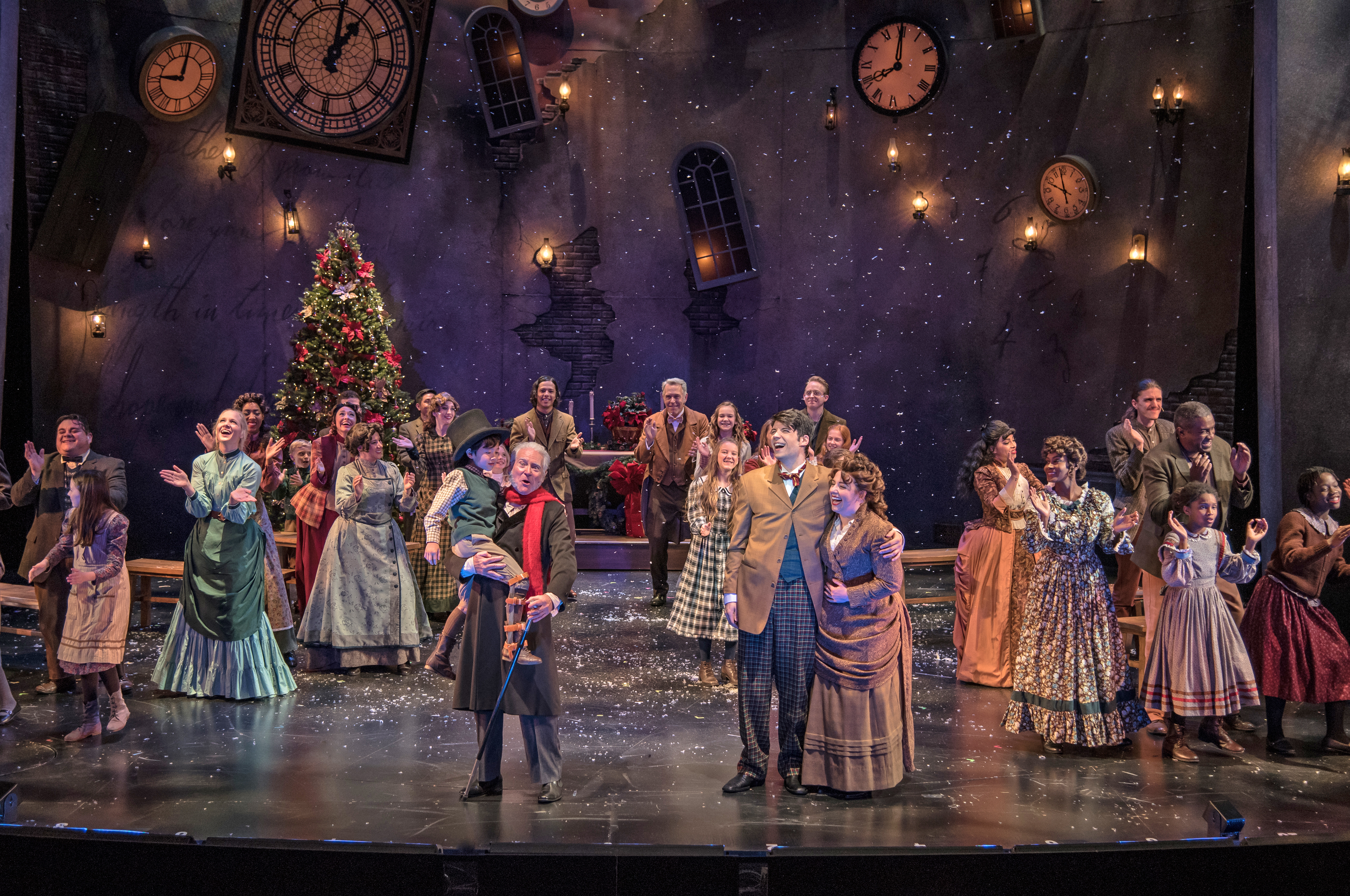 A Christmas Carol | ZACH Theatre | Austin, TX | December 2016