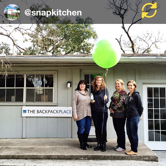 Another huge THANK YOU for all your support in my @snapkitchen  #21DaysforGood Challenge!! Your support helped me to win and the very generous donation from Snap can feed 200 kids in one weekend! Thanks again! RG @snapkitchen: Congratulations to our #21DaysForGood 3rd place winner, @rwethereyetmom ----------------------------------------------------------- We're proud to donate $1000 to Rebecca's local #Austin charity of choice, The Backpack Coalition. The Backpack Coalition is a non-profit organization, 100% volunteer and funded solely by donation, designed to meet the needs of hungry children in the Round Rock Independent School District by providing them with nutritious and easy to prepare food to take home on weekends. ----------------------------------------------------------- $1000 will help feed 200 to 215 kids a day ----------------------------------------------------------- Thank you @rwethereyetmom for sharing your #21DaysForGood journey with us and influencing positive changes in others! #regramapp