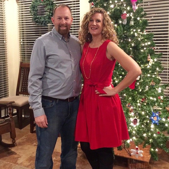 Date night with friends! Fun to get all dressy & fancy-like.