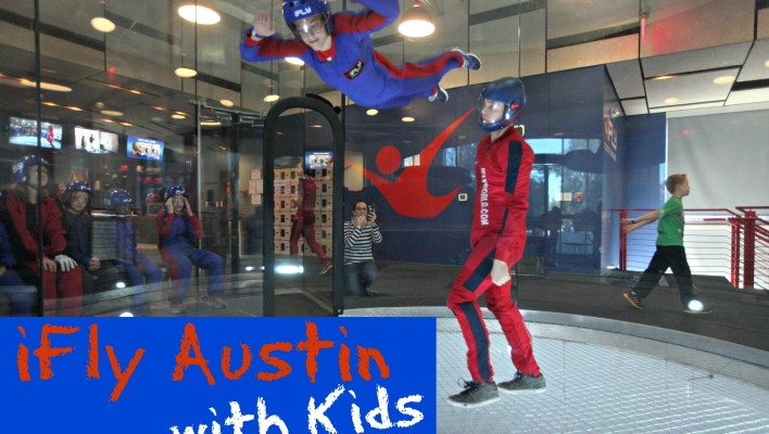 iFly Austin – Indoor Skydiving with Kids  {Giveaway}