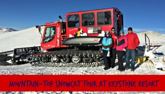 Mountain-Top Snowcat Tours at Keystone Resort, Colorado