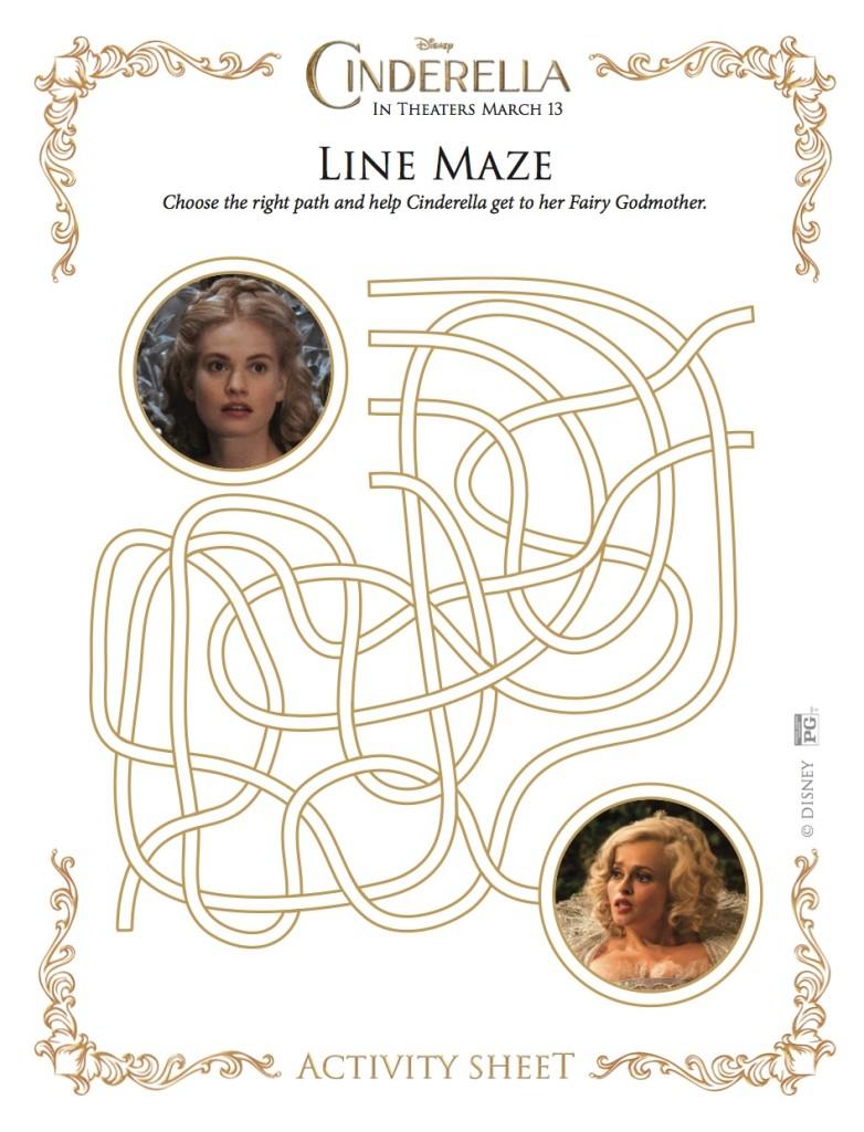 Cinderella Line Maze