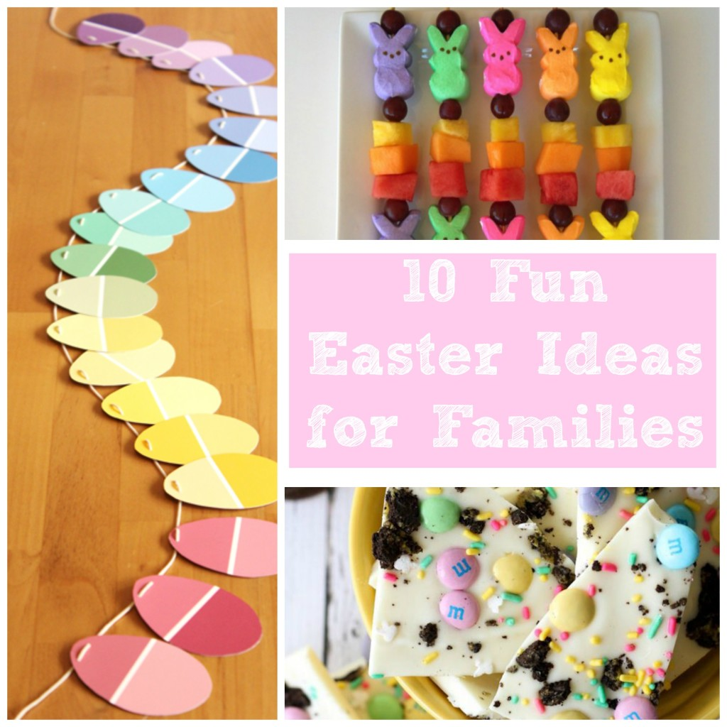 Easter Ideas for Families