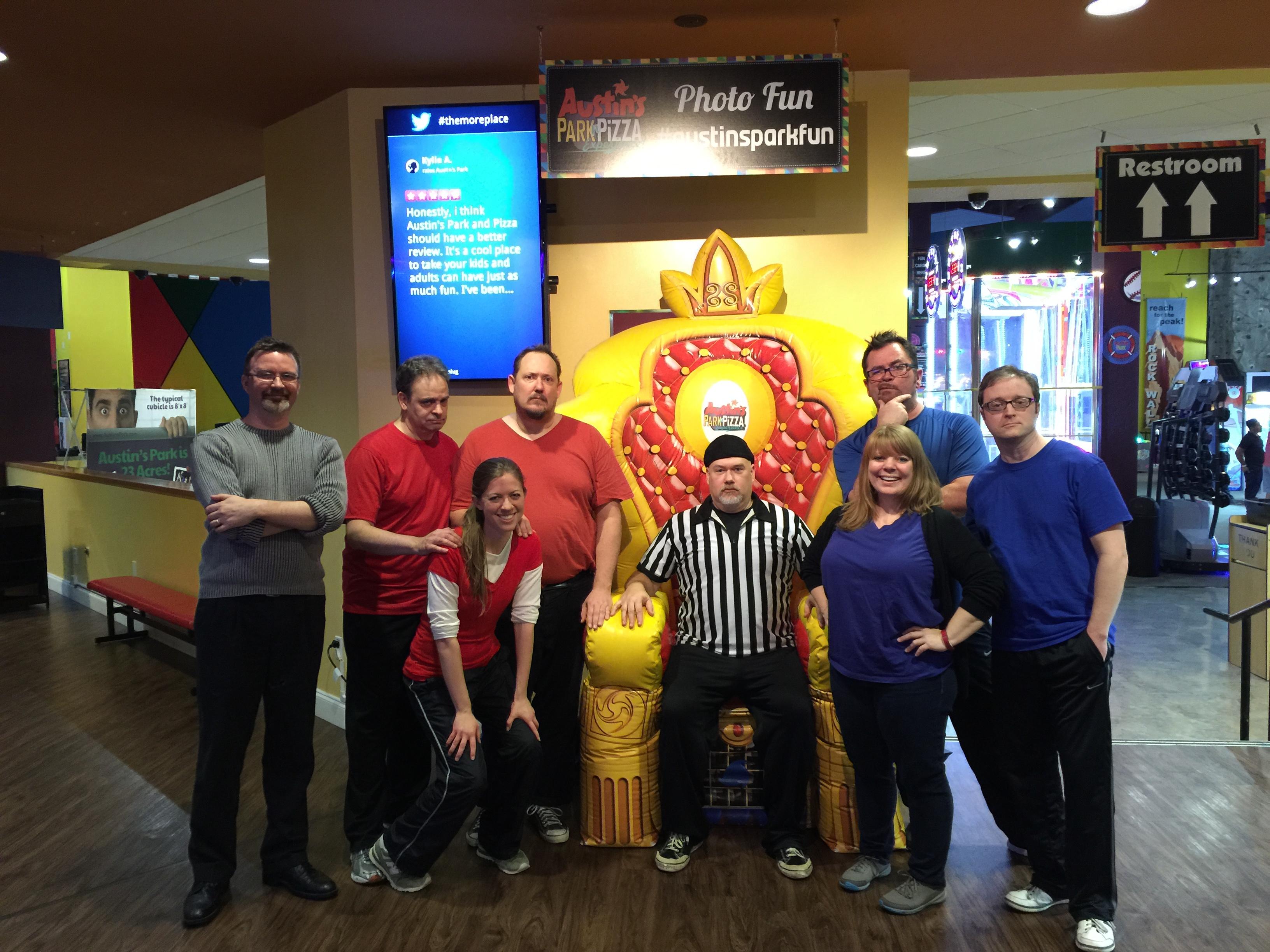 Comedy Spartans Family Improv Show Austin S Park N Pizza