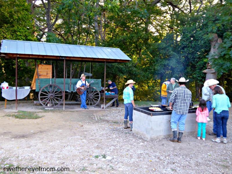 chuck wagon breakfast
