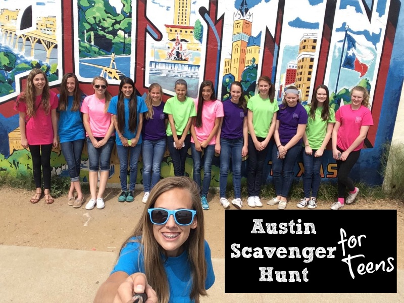 Austin Scavenger Hunt for Teens