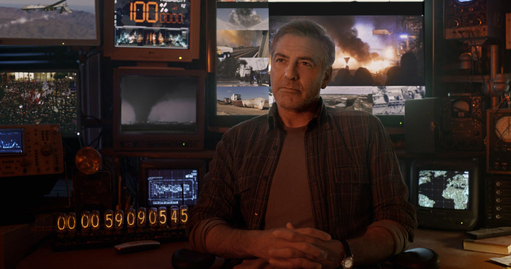 Disney's TOMORROWLAND..Frank (George Clooney)..?Disney 2015