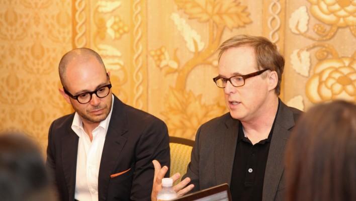 A Chat with Tomorrowland Creators Brad Bird & Damon Lindelof