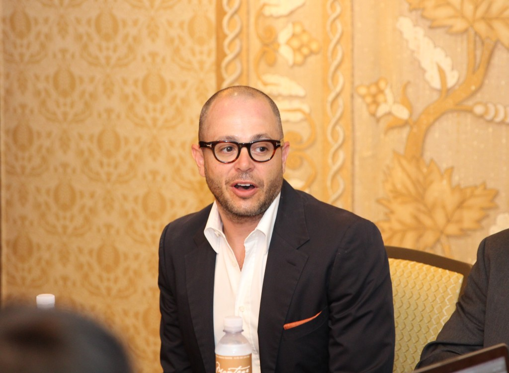 Tomorrowland Screenwriter/Producer Damon Lindelof Photo Credit: Louise Bishop of MomStart.com