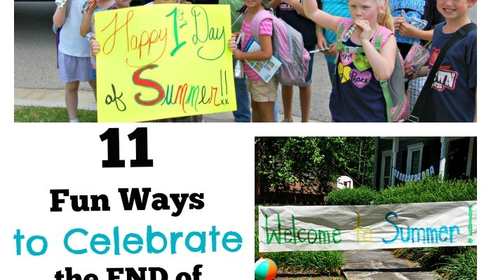 11 Fun Ways to Celebrate the End of School for Kids (& Moms!)