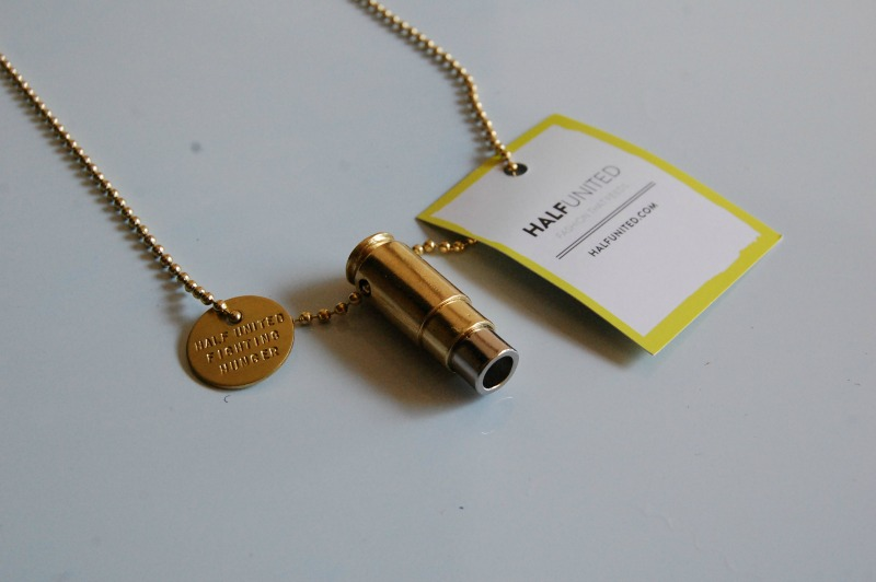 Half United Necklace
