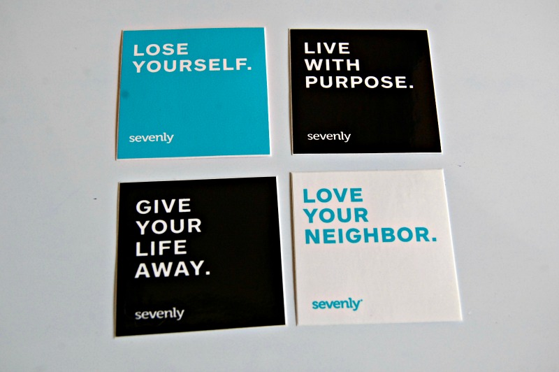 Sevenly Stickers