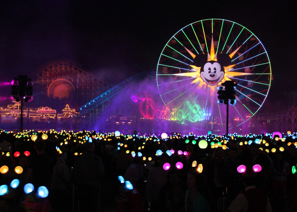 Updated World of Color Show Disneyland Diamond Celebration