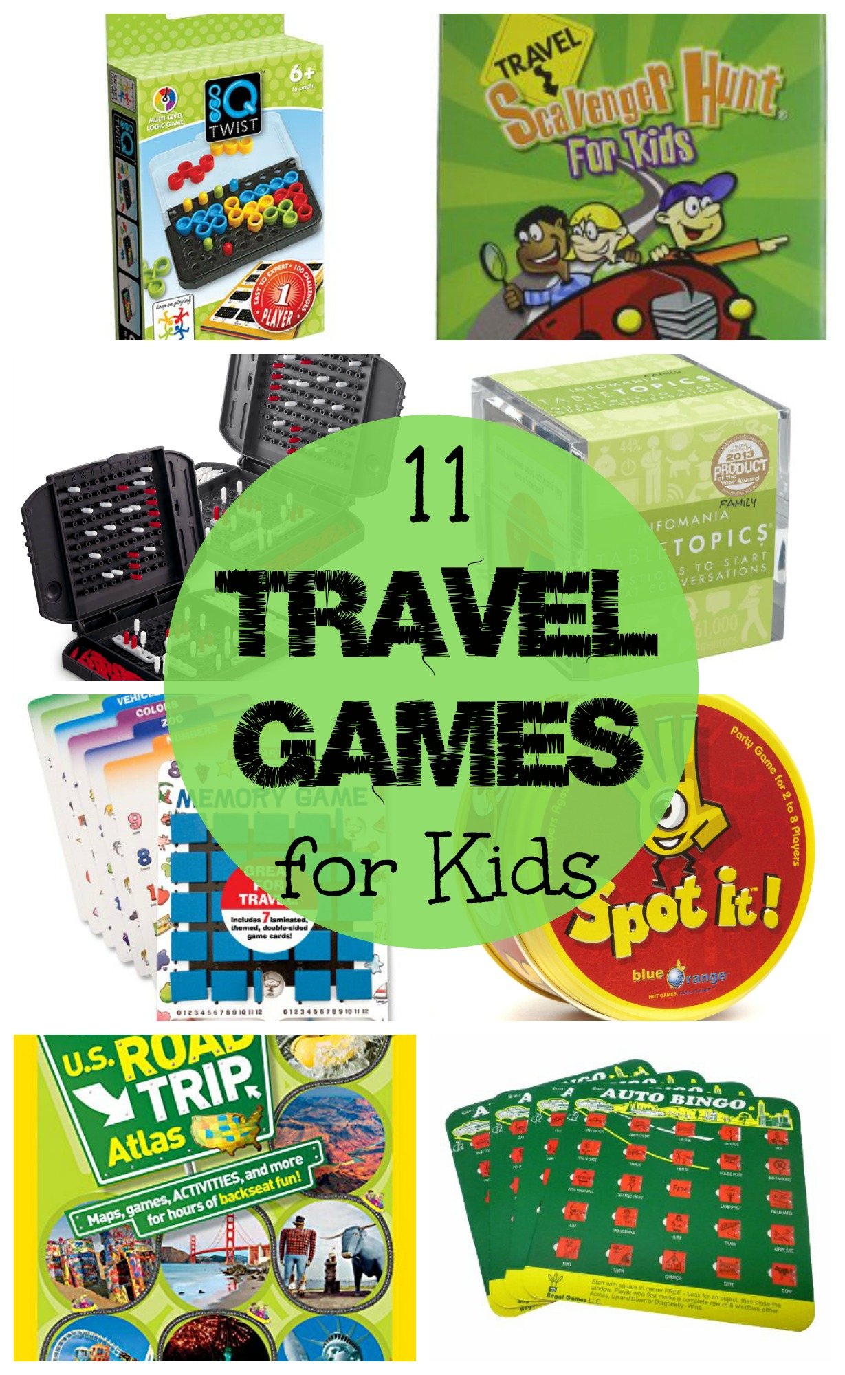 11 Travel Games for Kids