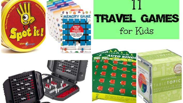 11 Best Travel Games for Kids
