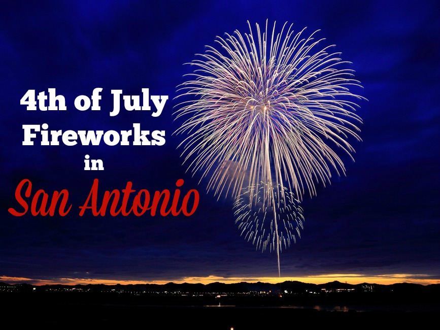 4th of July Fireworks in San Antonio