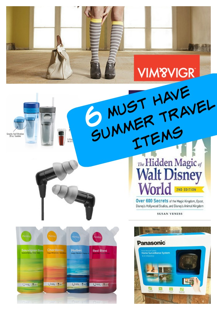 6 Must Have Summer Travel Items