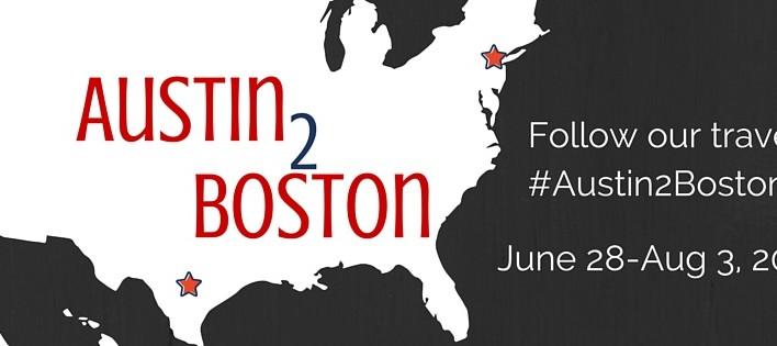 Austin 2 Boston: A 5 Week Road Trip