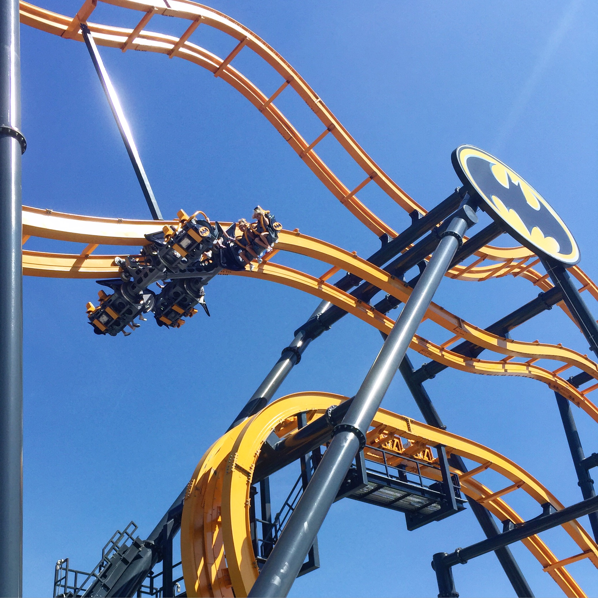 Disappointed in the Batman ride - Review of Six Flags ...