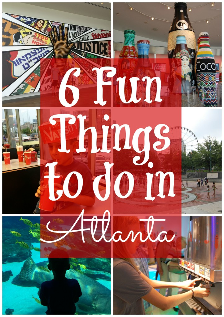 6 Fun things to do in Atlanta