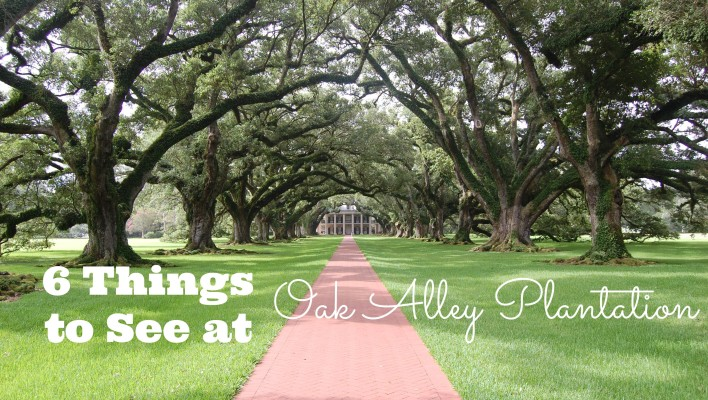 6 Things to See at Oak Alley Plantation near New Orleans, Louisiana