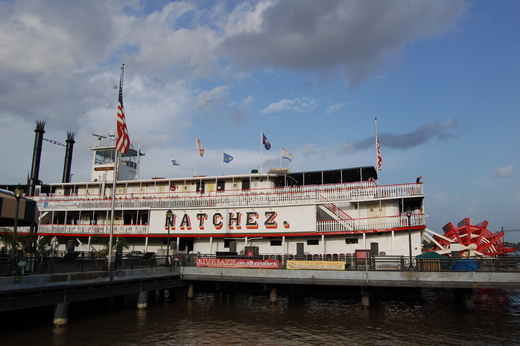Steamboat NATCHEZ in New Orleans