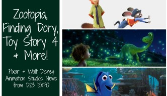 Zootopia, Finding Dory, Toy Story 4 and More!