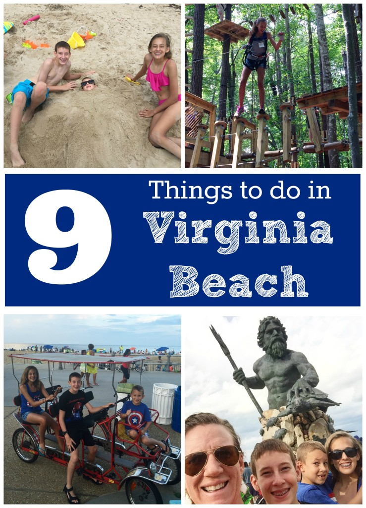 Things To Do With Kids And Teens In Va Beach