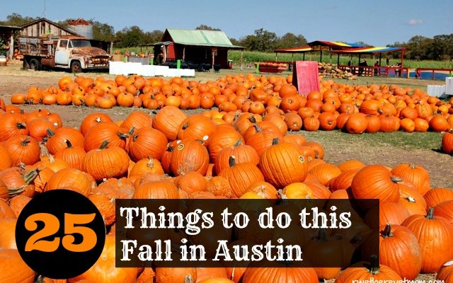 Top 25 Things to do in Austin this Fall – 2015