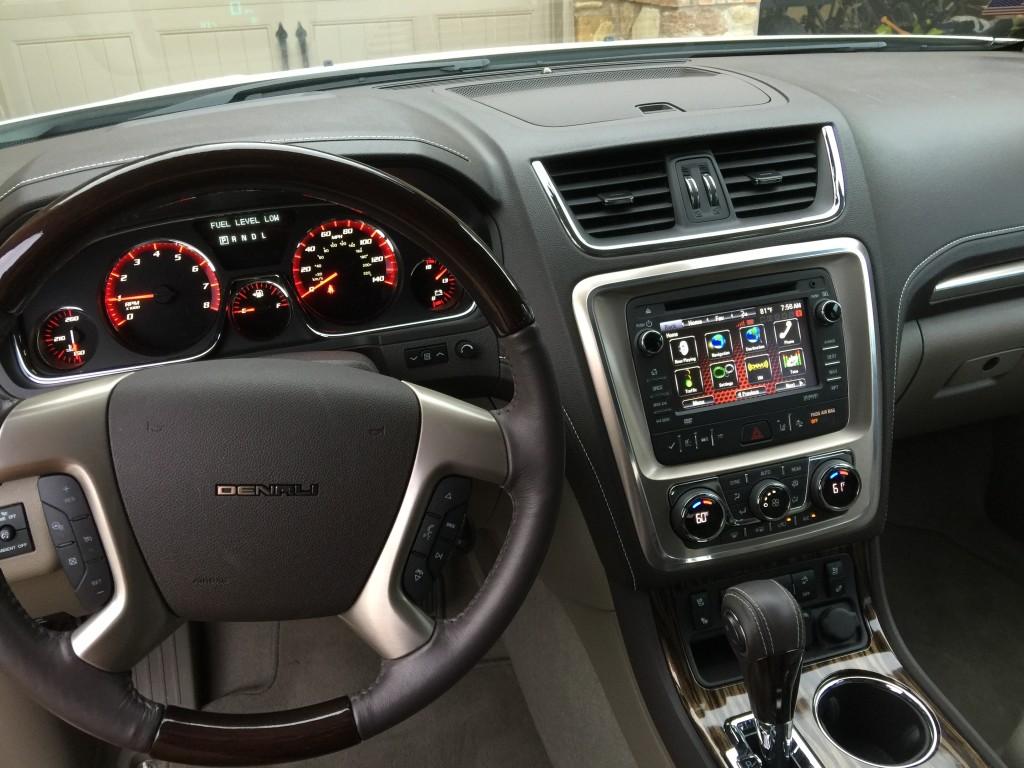 Acadia steering wheel