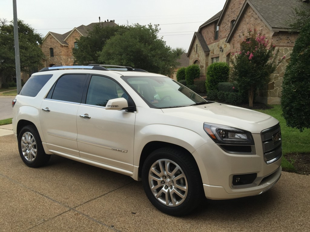 2015 gmc acadia denali a mom 39 s review for a family of 5. Black Bedroom Furniture Sets. Home Design Ideas