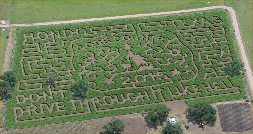 Top 6 Texas Corn Mazes For 2015 Pumpkin Patches