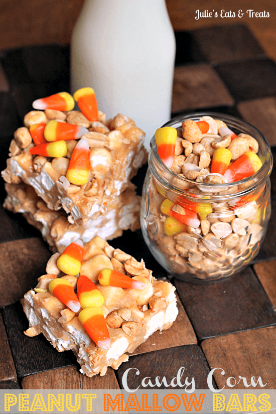 Candy-Corn-Peanut-Mallow-Bars-Perfect-combo-of-sweet-and-salty-via-www.julieseatsandtreats.com_