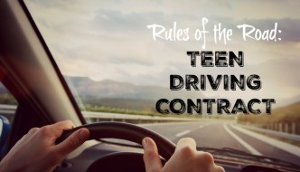 Rules of the Road: Teen Driving Contract