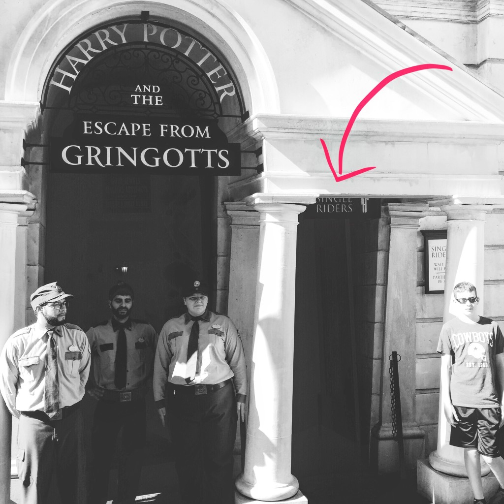 Escape from Gringotts at Wizarding World of Harry Potter