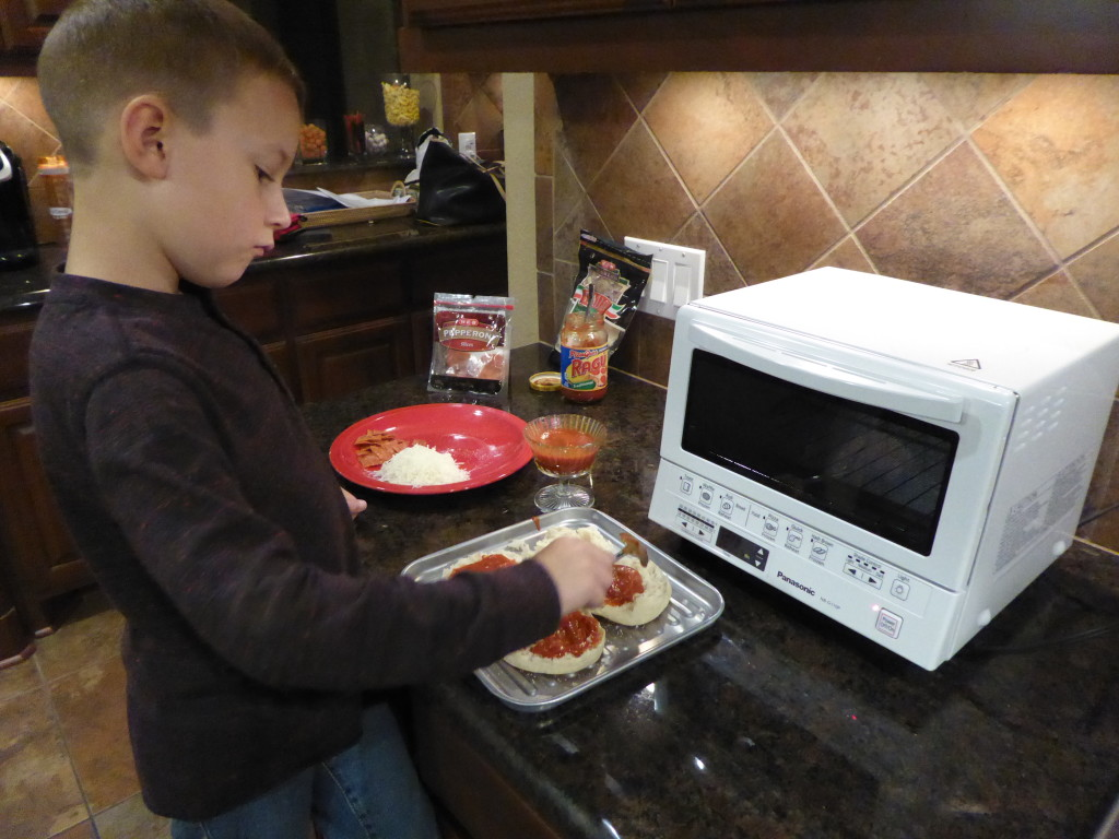 Panasonic Flashxpress Toaster Oven Kids Challenge