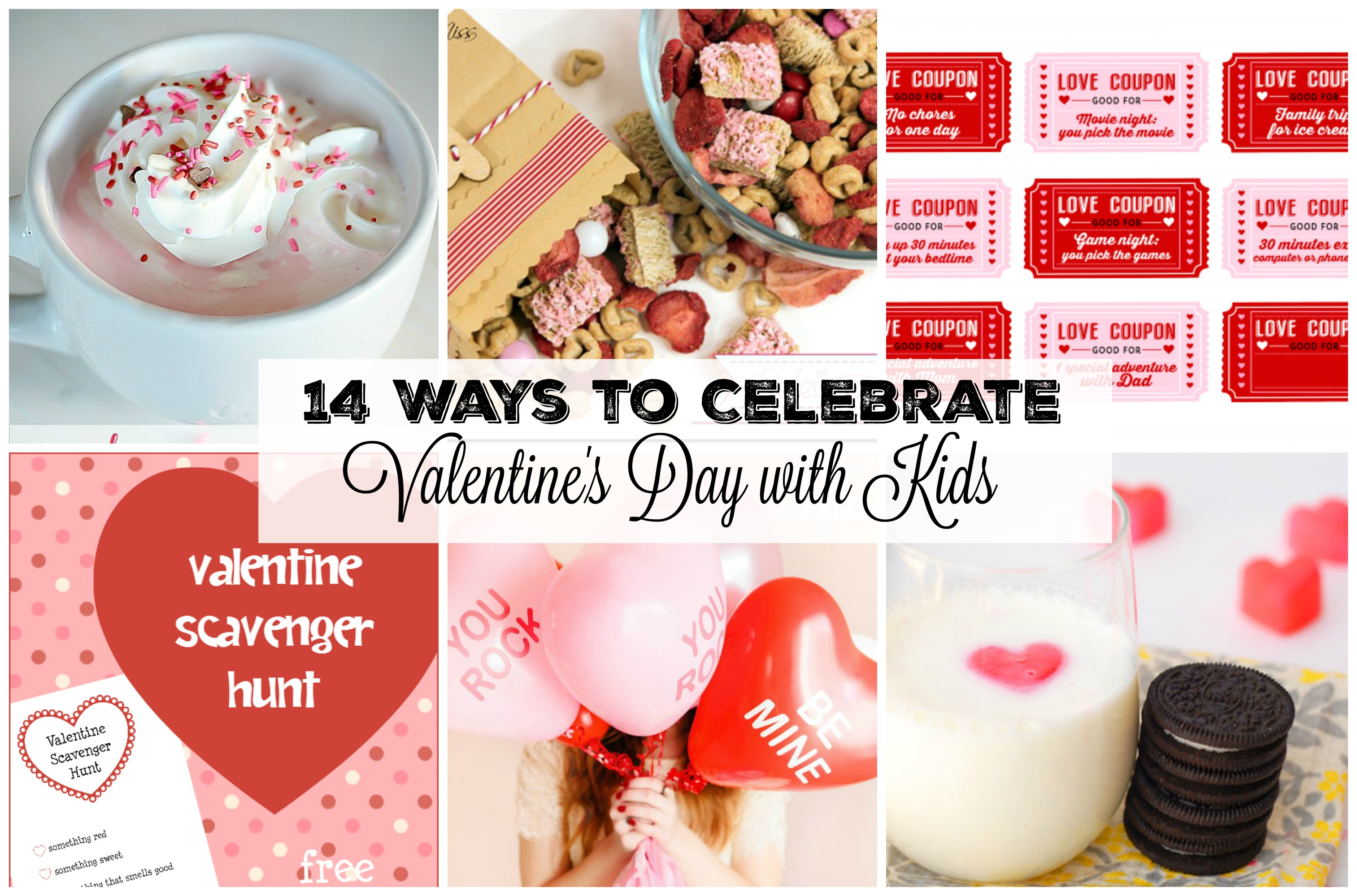 14 Ways To Celebrate Valentine S Day With Kids Gifts Games Food