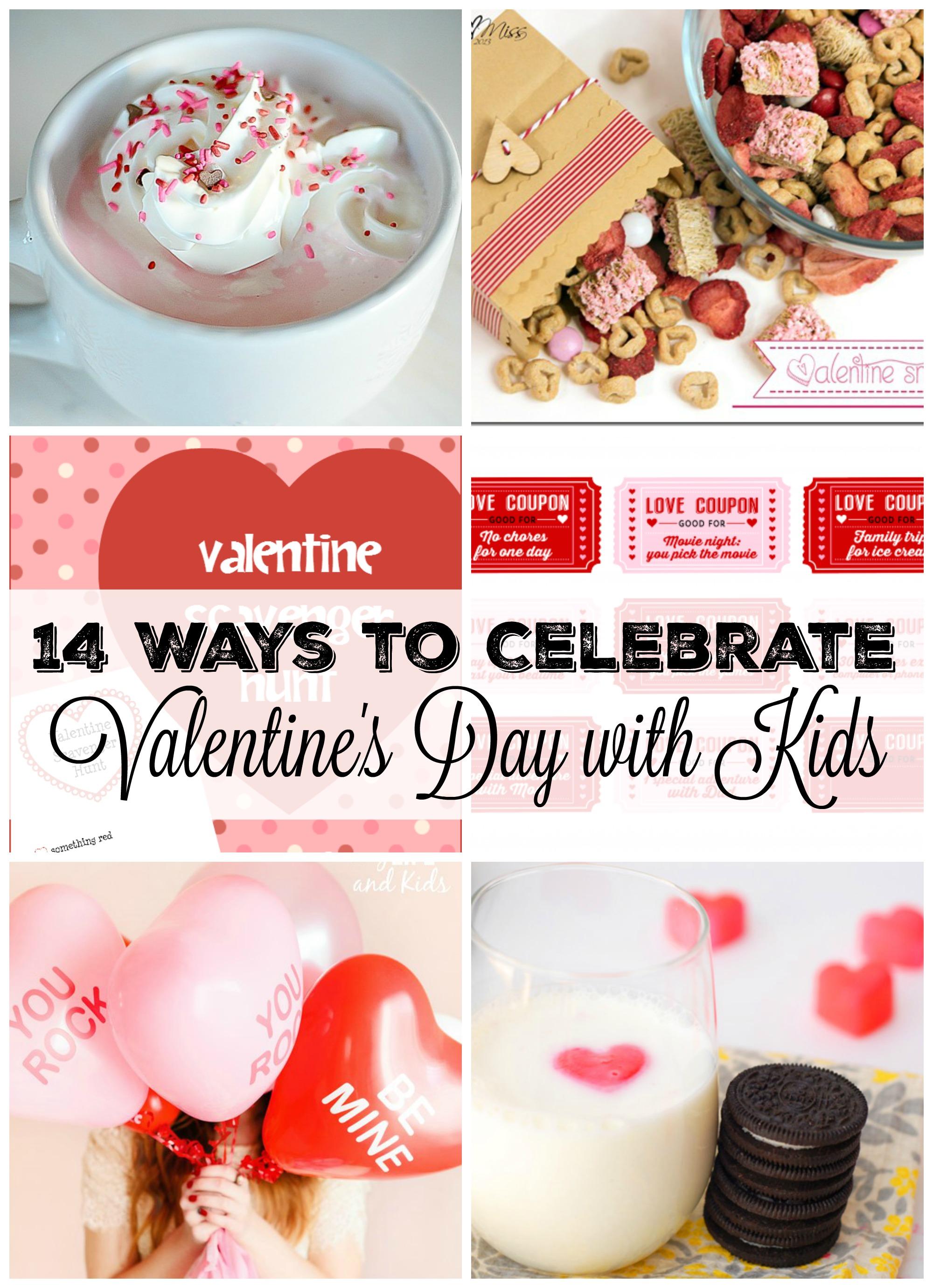14 ways to celebrate valentines day with kids - Valentines Day With Kids